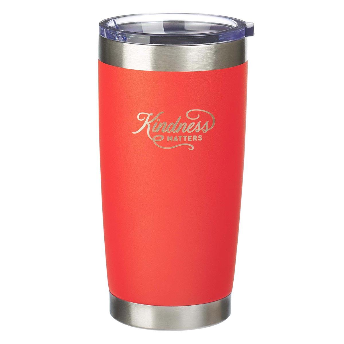Kindness Matters Orange (Stainless Steel Mug)
