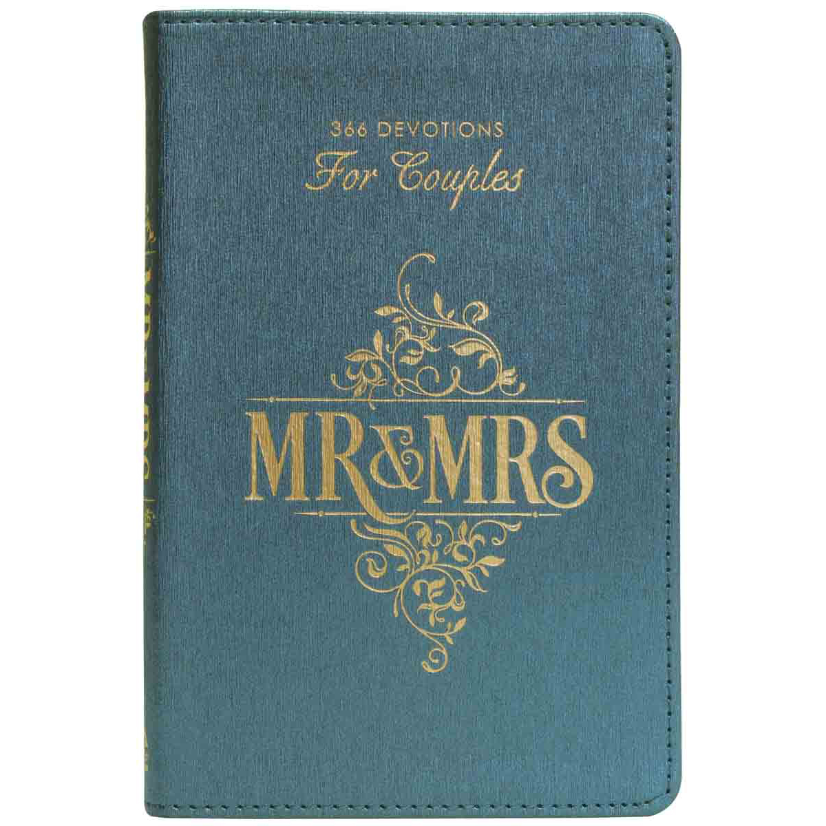 Mr & Mrs 366 Devotions For Couples (LuxLeather)
