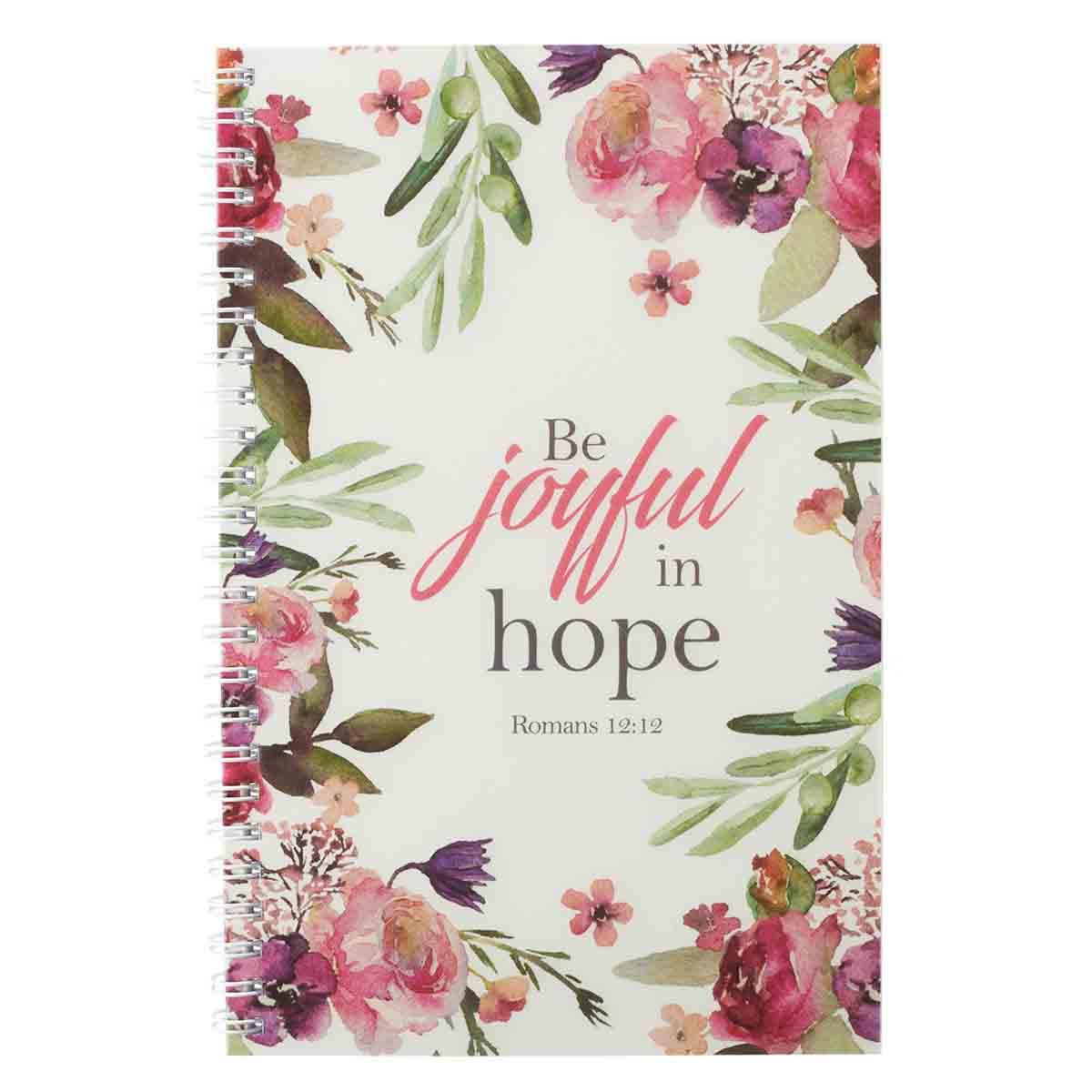 Be Joyful In Hope (Wirebound PVC Notebook)
