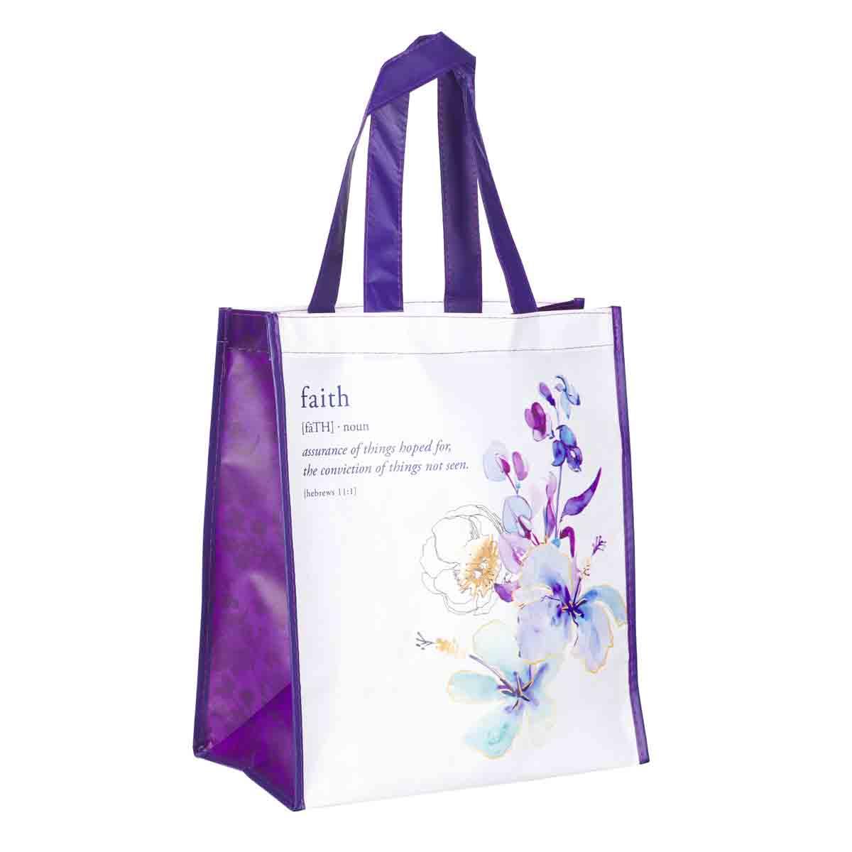 Faith (Non-Woven Polypropylene Tote Bag)