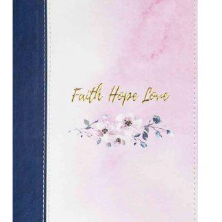 Faith Hope Love (LuxLeather Journal)