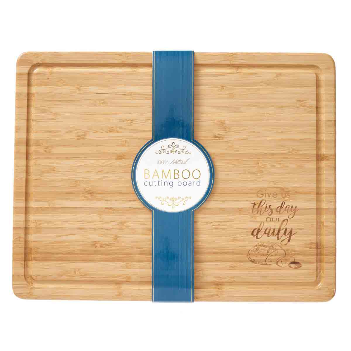 Give Us This Day (Bamboo Cutting Board)