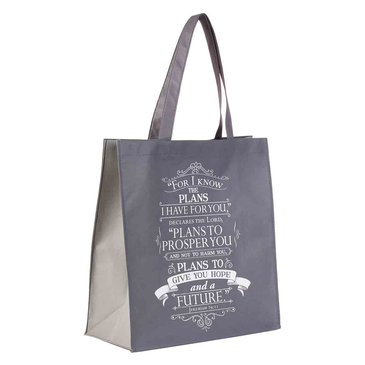 For I Know The Plans I Have For You (Non-Woven Polypropylene Tote Bag)