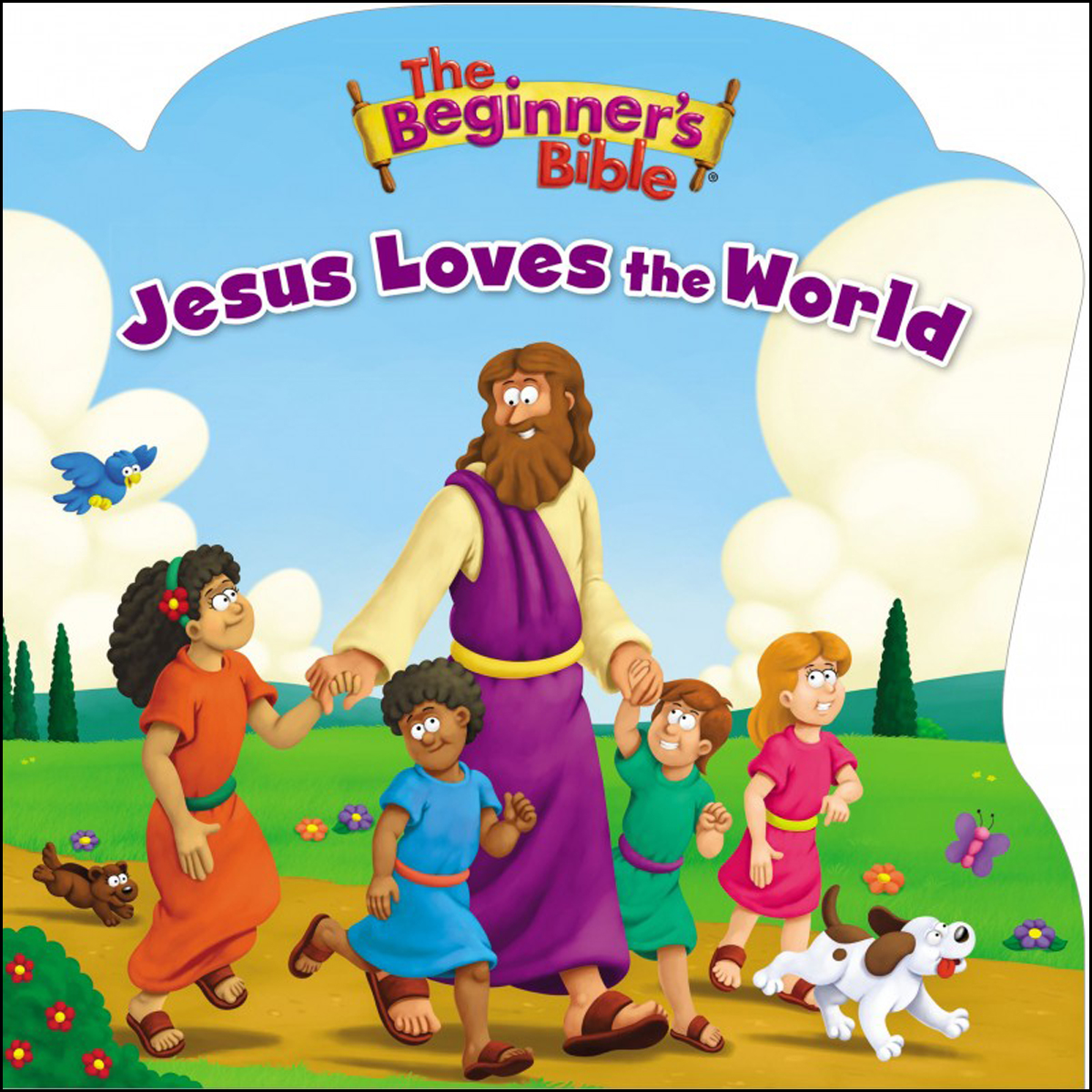 The Beginner's Bible Jesus Loves The World (Board Book)