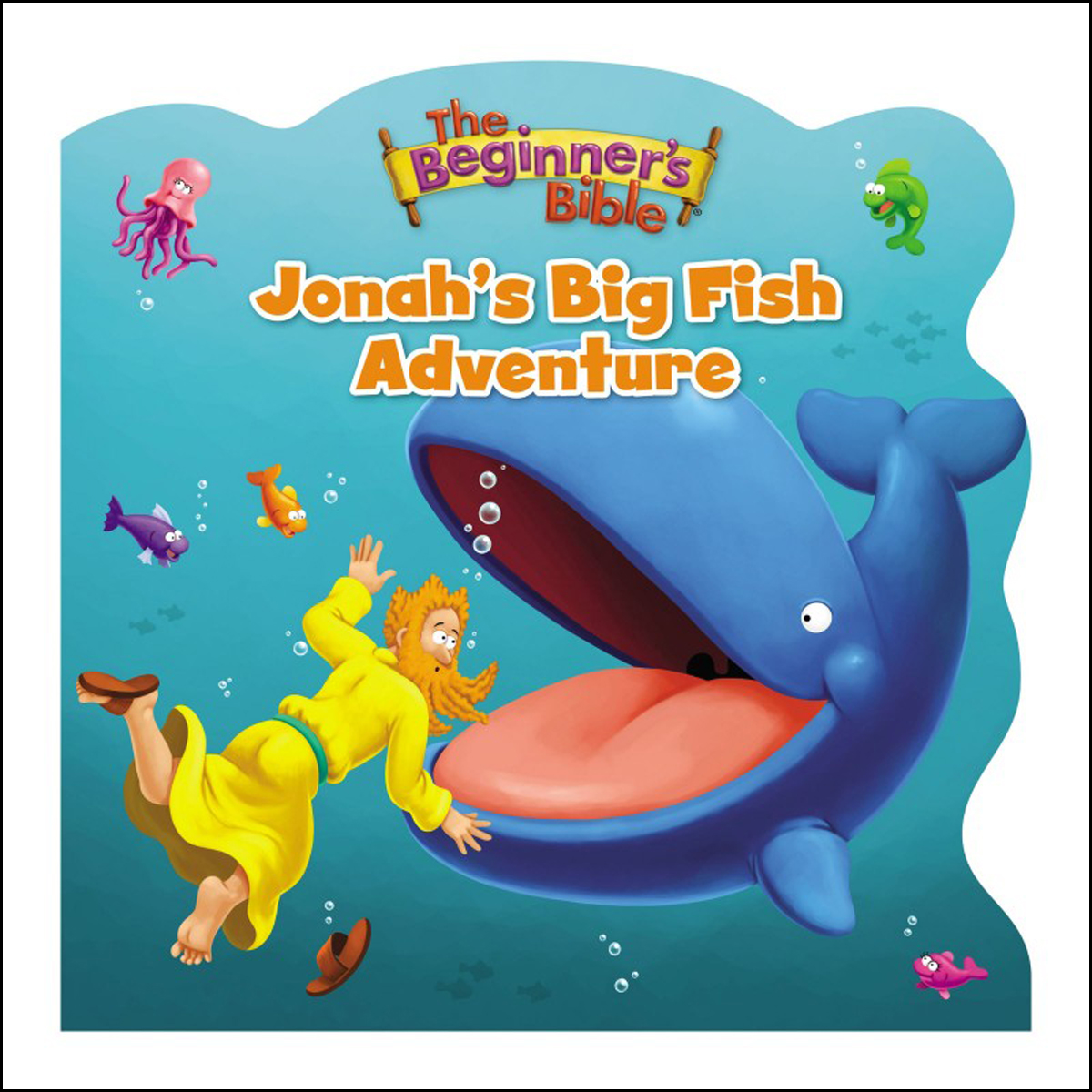 The Beginner's Bible Jonah's Big Fish Adventure (Hardcover)