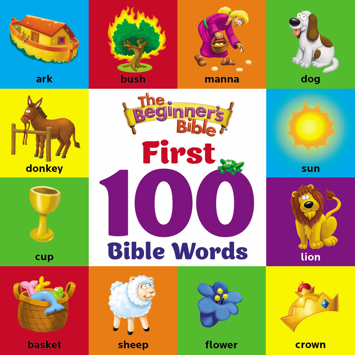 The Beginner's Bible First 100 Bible Words (Board Book)