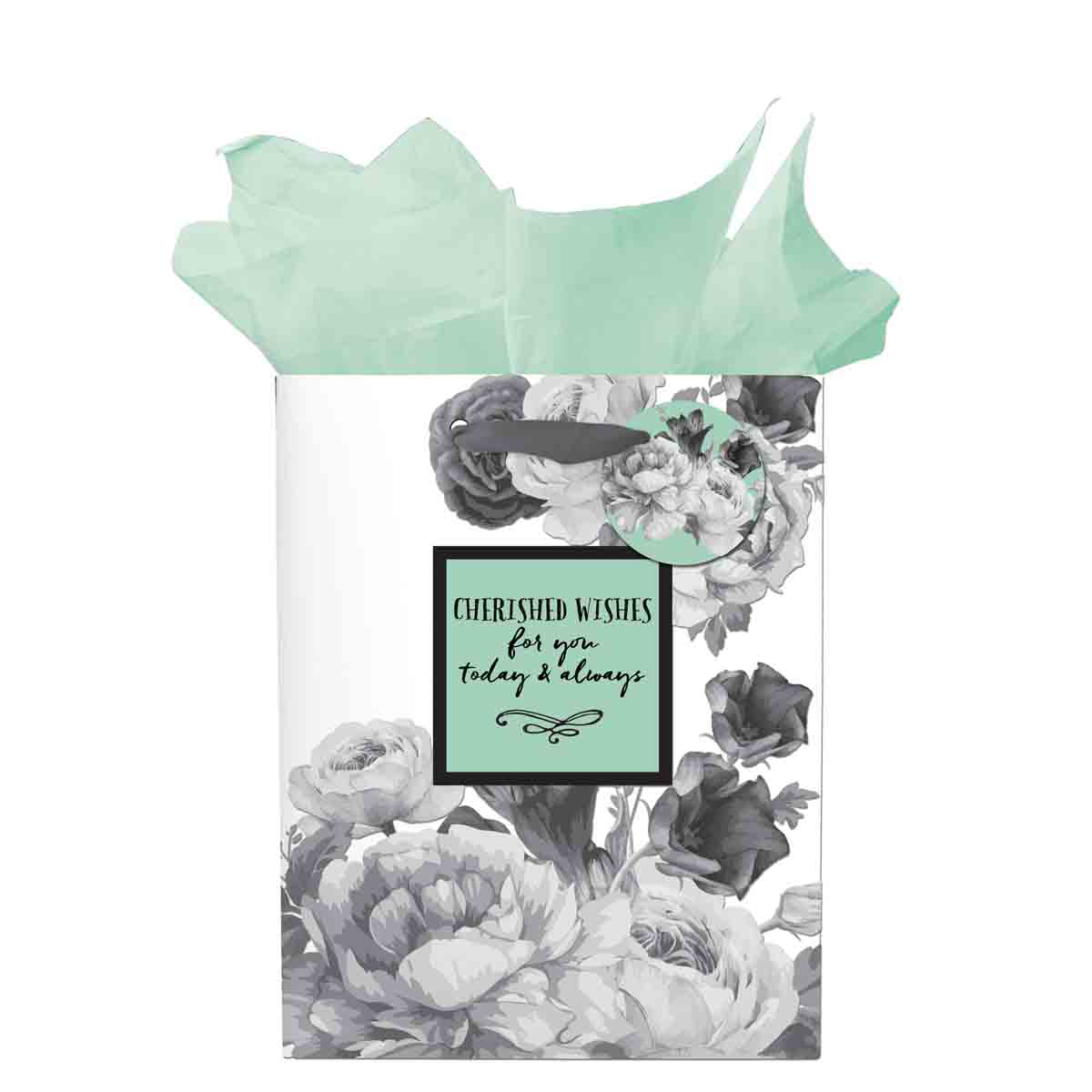 Cherished Wishes For Your Today And Always (Small Gift Bag)